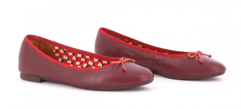 Chaussures Ballerines MELLOW YELLOW BORDEAUX
