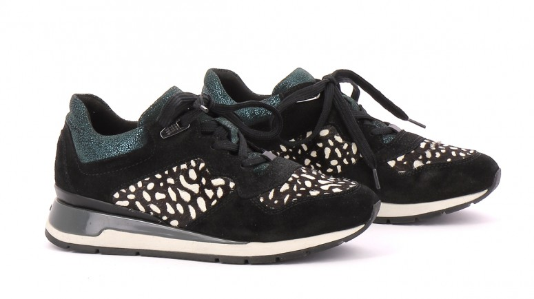Chaussures Sneakers GEOX VERT FONCé