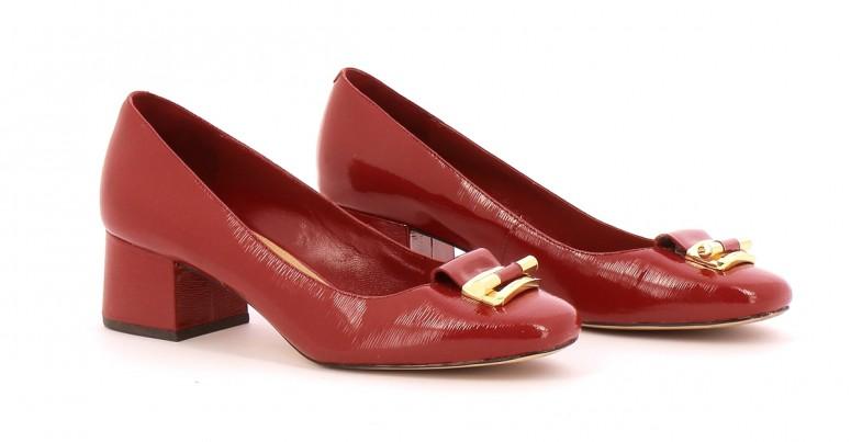 Chaussures Ballerines MICHAEL KORS ROUGE