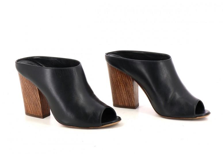 Chaussures Mules SERGIO ROSSI  NOIR