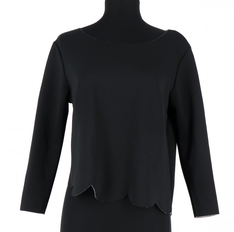 Vetements Top COP COPINE NOIR