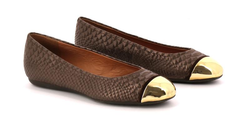 Chaussures Ballerines GEOX MARRON