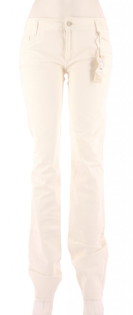 Vetements Pantalon BEL AIR BLANC