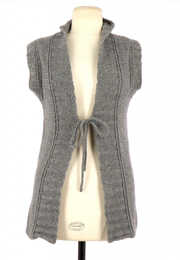 Vetements Gilet SUD EXPRESS GRIS