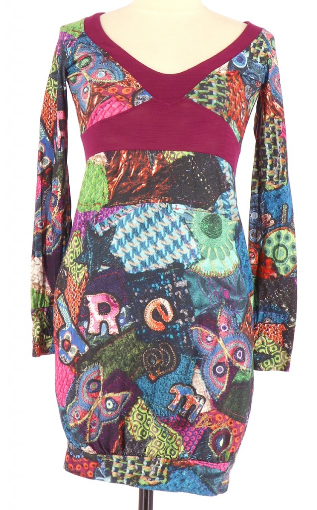 Vetements Robe DESIGUAL FUSCHIA