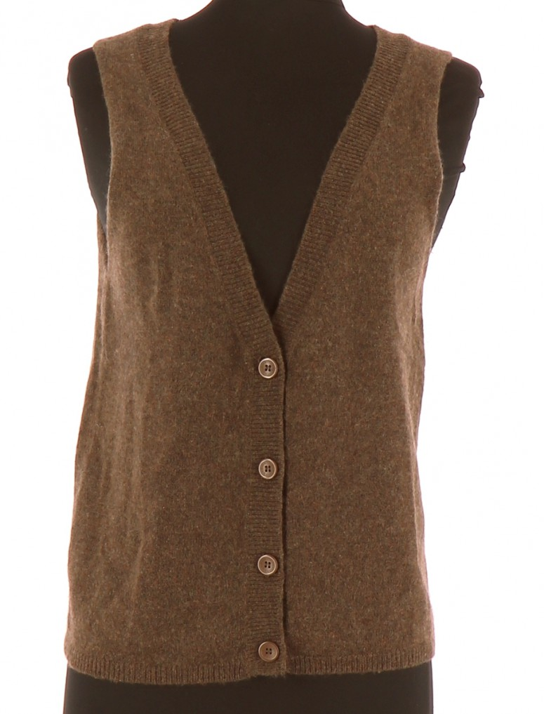 Vetements Gilet AMERICAN VINTAGE MARRON