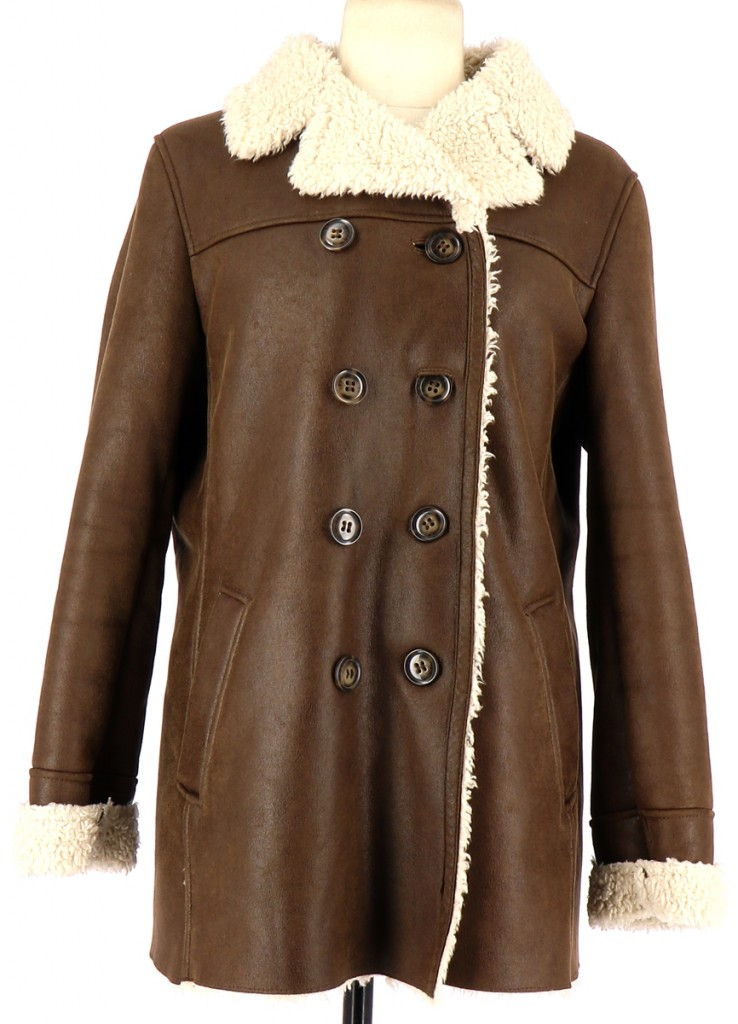 Vetements Manteau PABLO DE GERARD DAREL MARRON