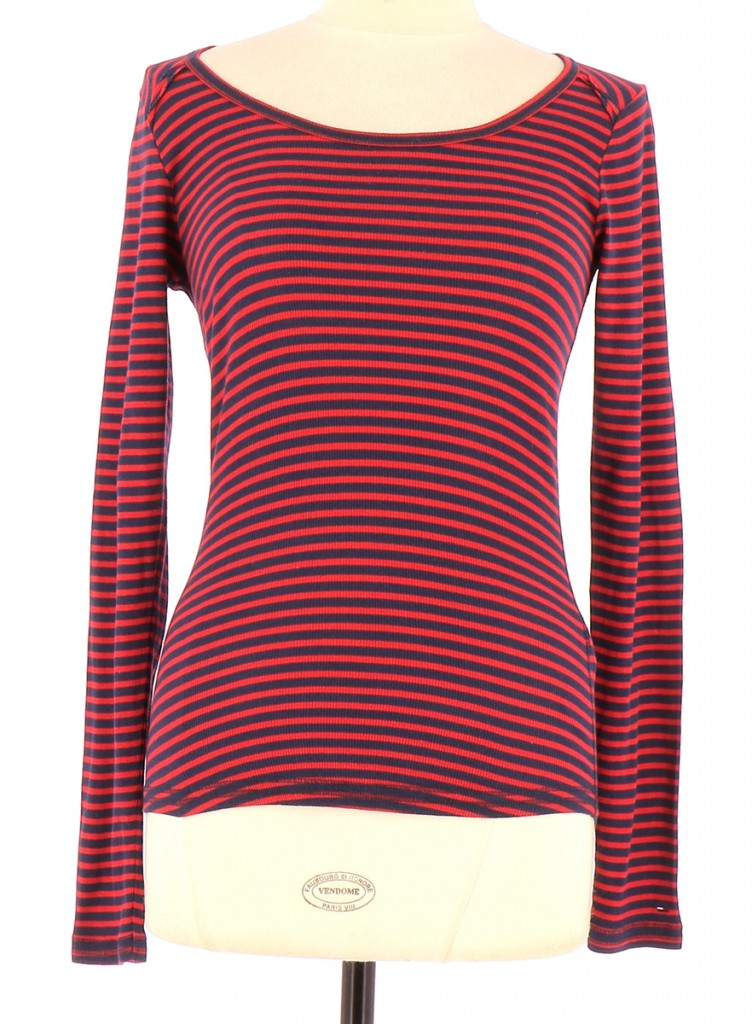 Vetements Pull TOMMY HILFIGER ROUGE