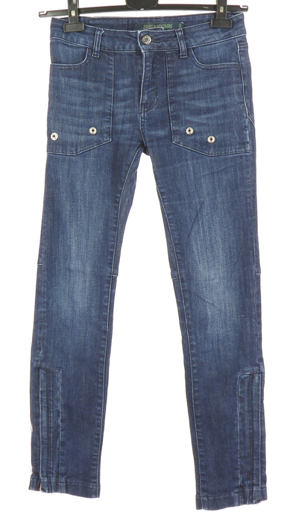 Vetements Jeans ZADIG & VOLTAIRE BLEU