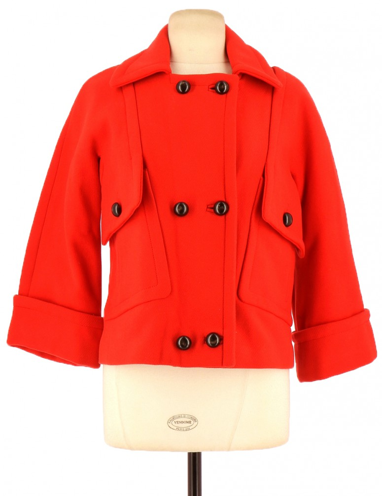 Vetements Manteau COMPTOIR DES COTONNIERS ROUGE