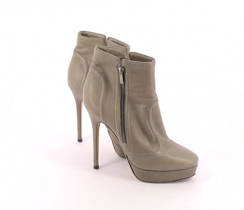 Chaussures Bottines / Low Boots JIMMY CHOO GRIS