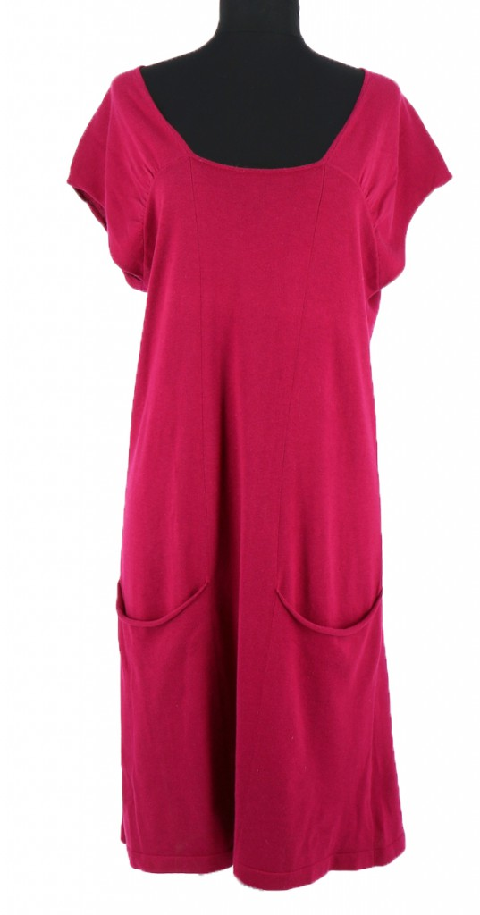 Vetements Robe ERIC BOMPARD FUSCHIA