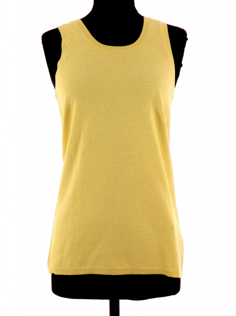 Vetements Top ERIC BOMPARD JAUNE