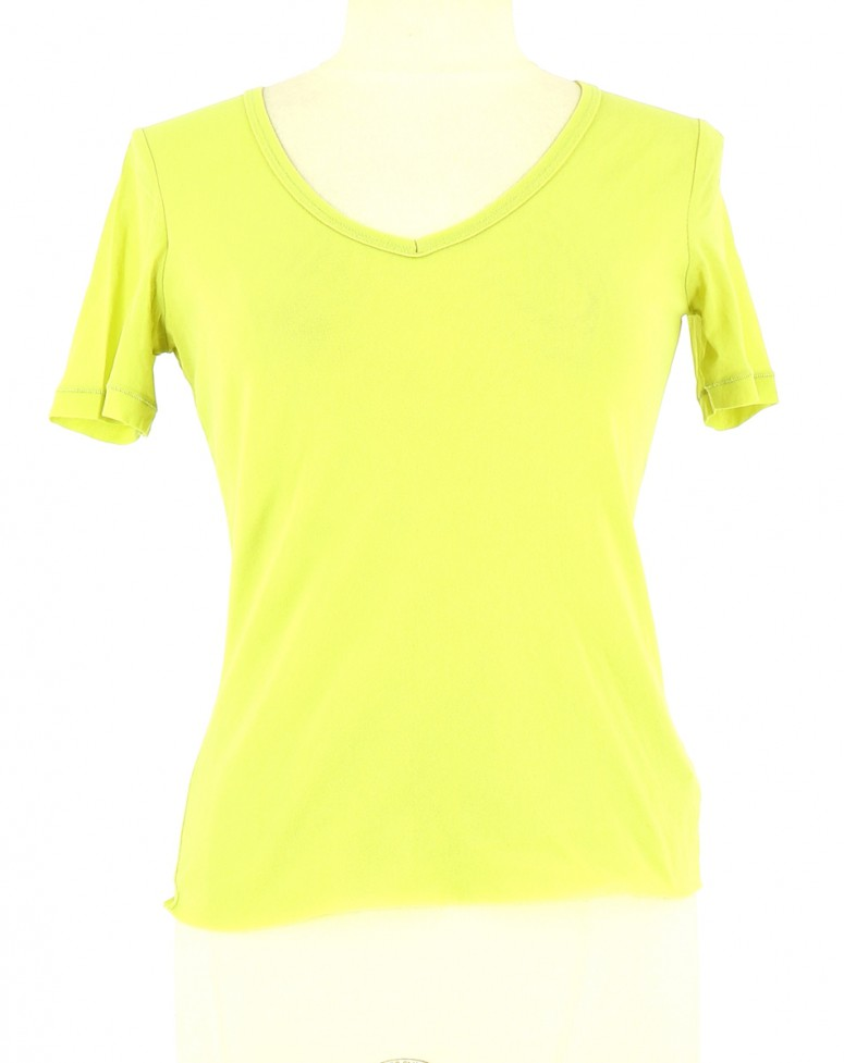 Vetements Top ONE STEP VERT CLAIR
