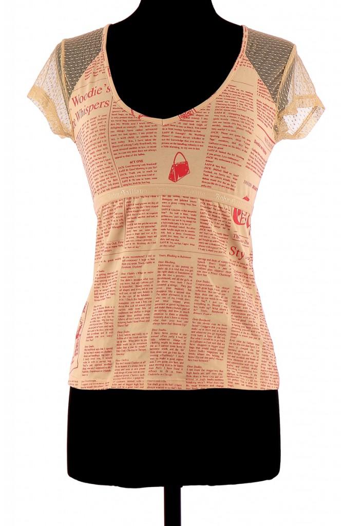 Shirt John Galliano T Femme pzGqSVUM