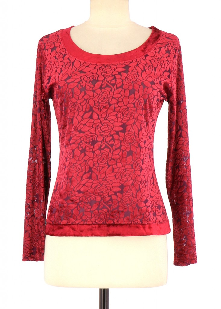 Vetements Tee-Shirt 123 ROUGE