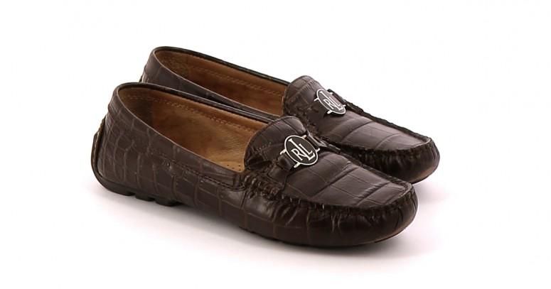 Chaussures Mocassins RALPH LAUREN MARRON