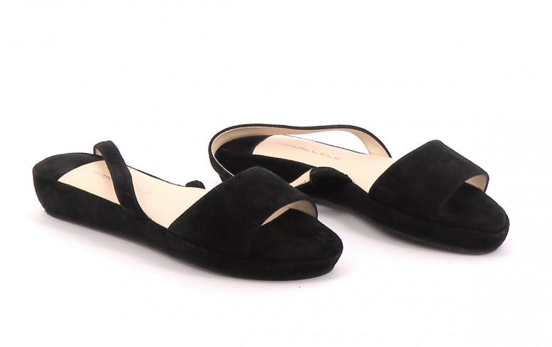 Chaussures Sandales PARALLELE NOIR