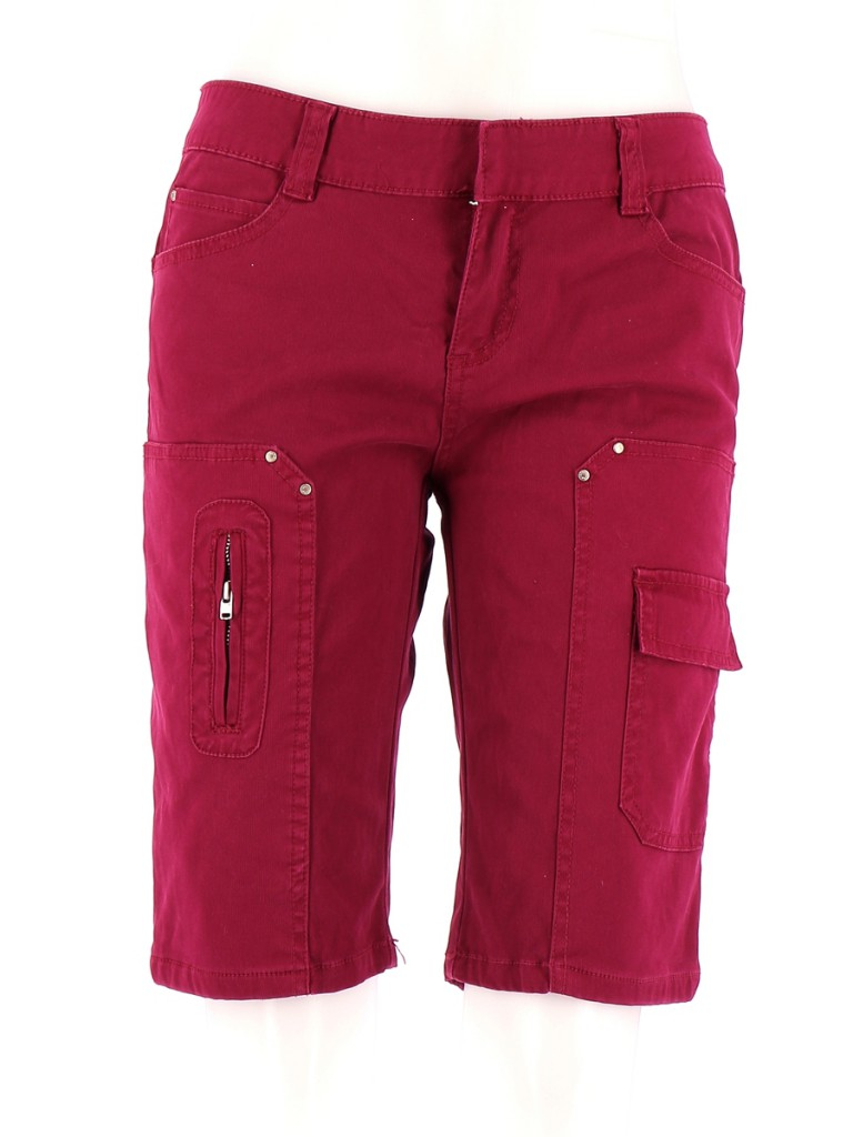 Vetements Short VANESSA BRUNO ATHE FUSCHIA