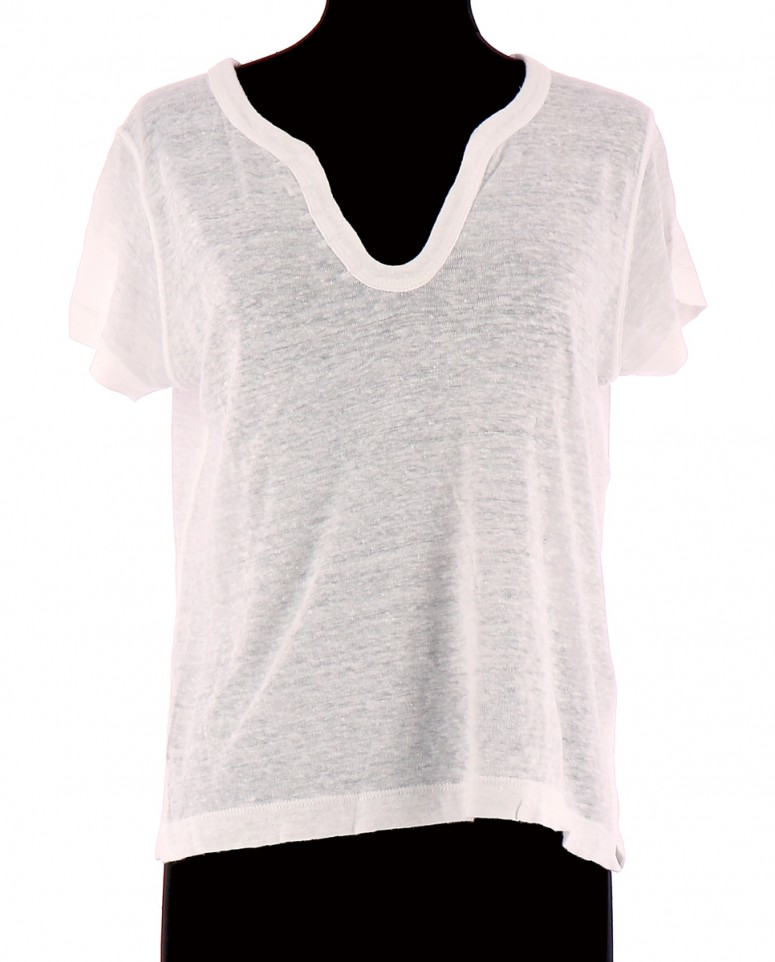Vetements Tee-Shirt ZADIG & VOLTAIRE BLANC