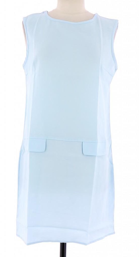 Vetements Robe PRETACHANGER BLEU CLAIR