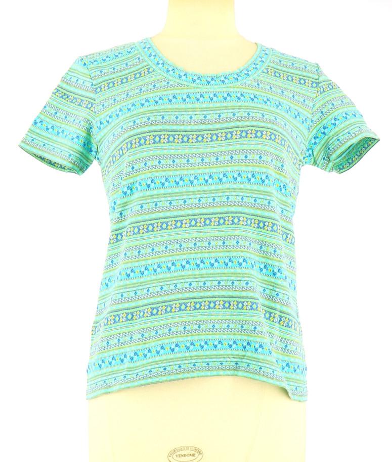 Vetements Tee-Shirt 123 TURQUOISE