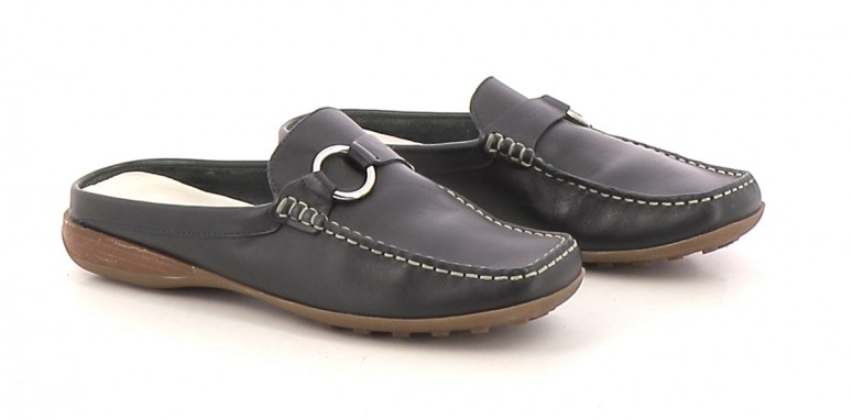 Chaussures Mules GEOX BLEU MARINE