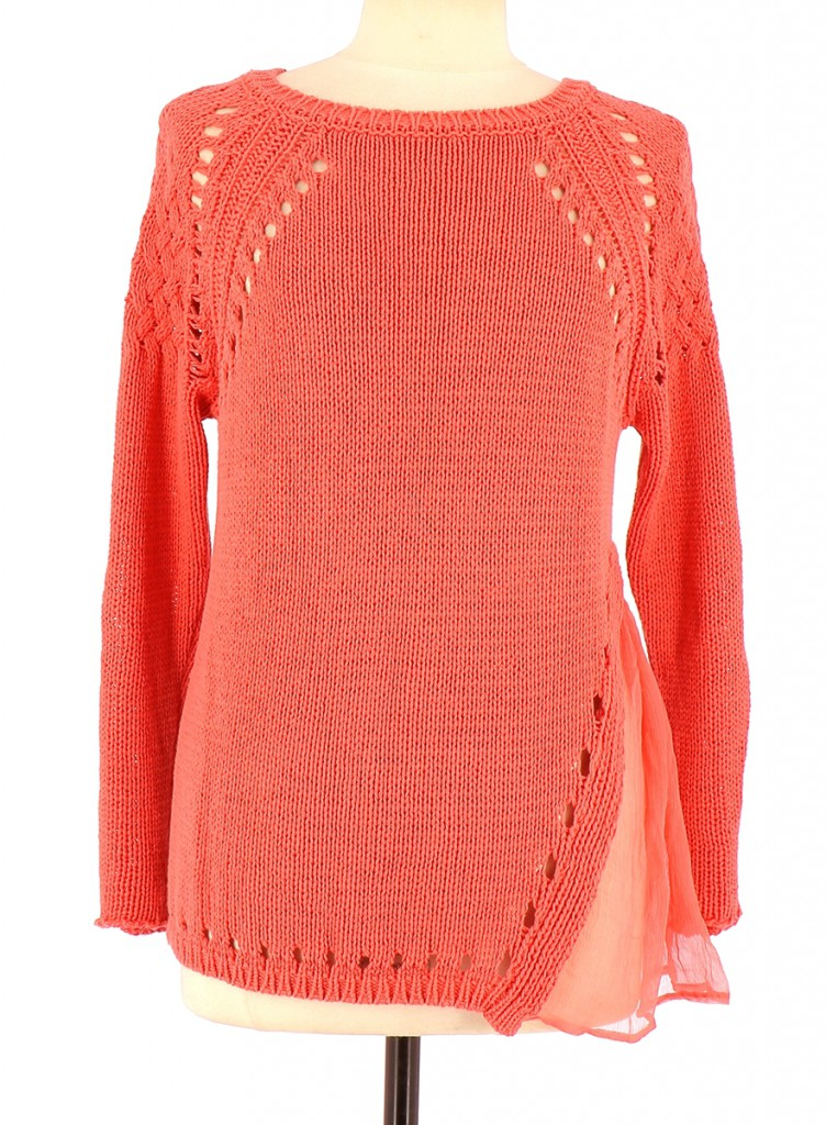Vetements Pull TWINSET CORAIL