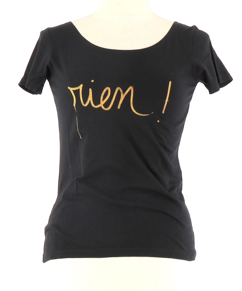 Vetements Tee-Shirt AGNES B. NOIR