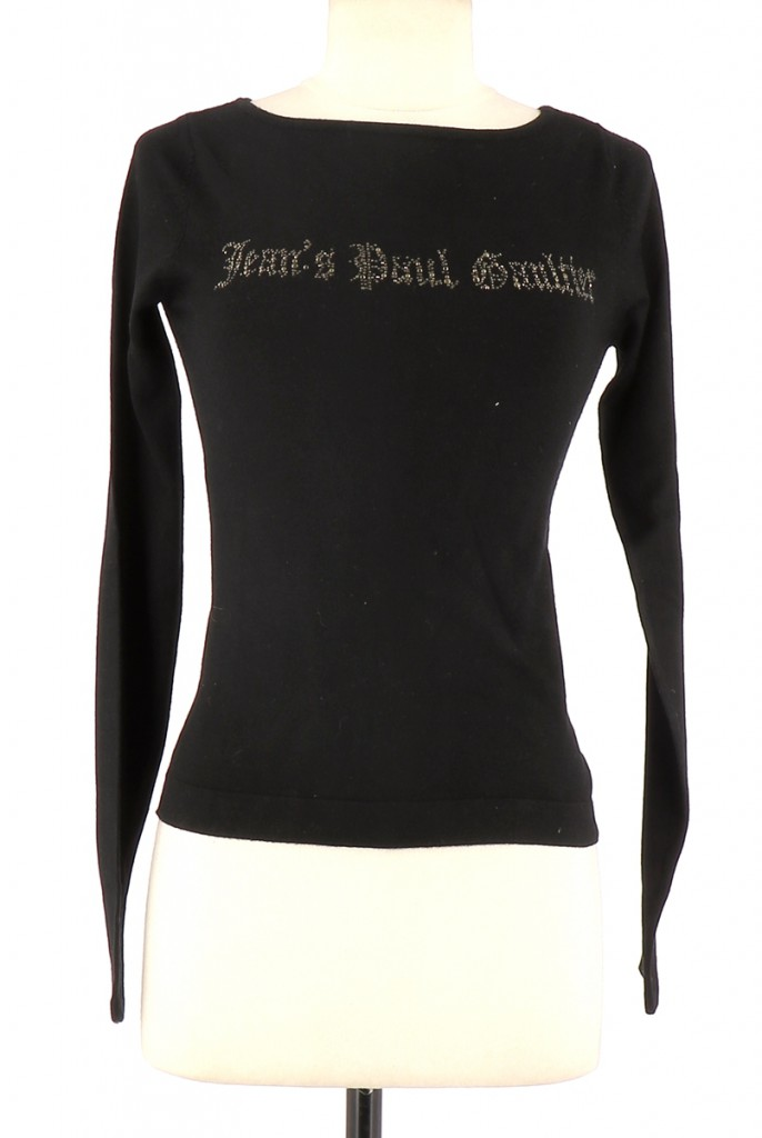Vetements Pull JEAN PAUL GAULTIER NOIR