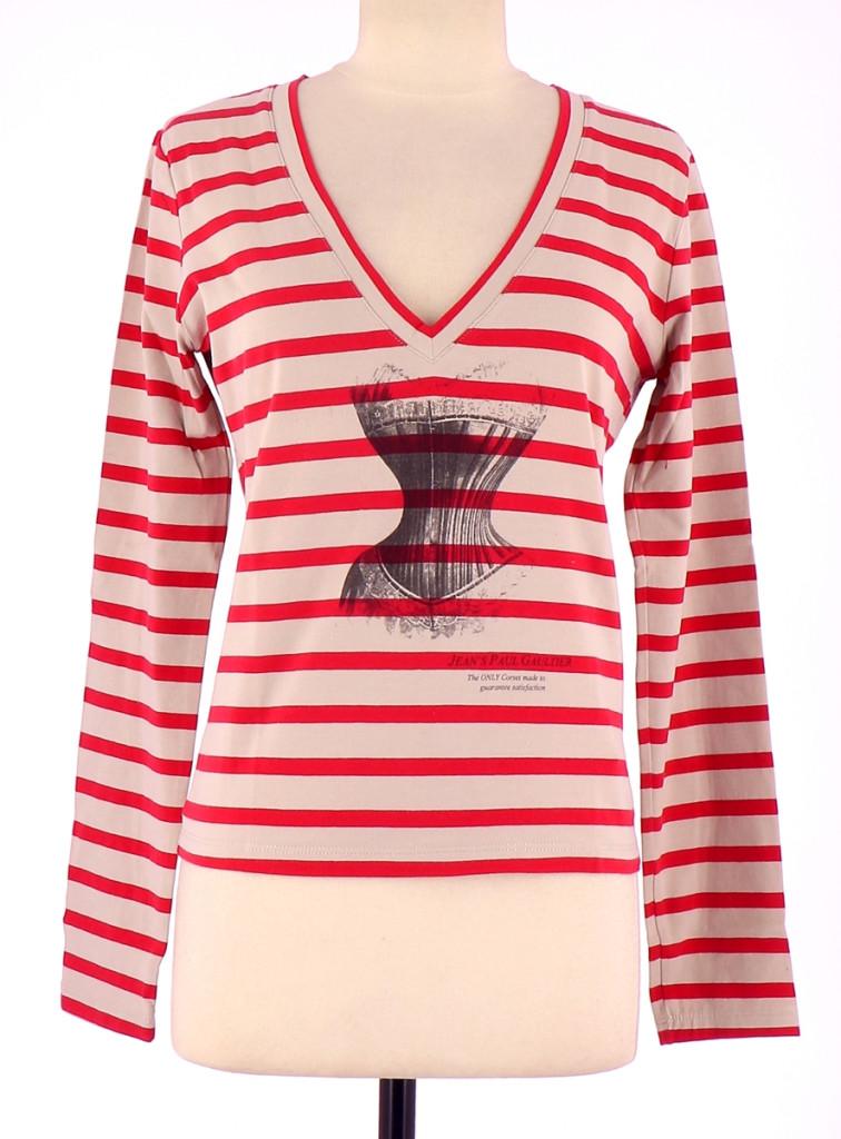 Vetements Tee-Shirt JEAN PAUL GAULTIER ROUGE