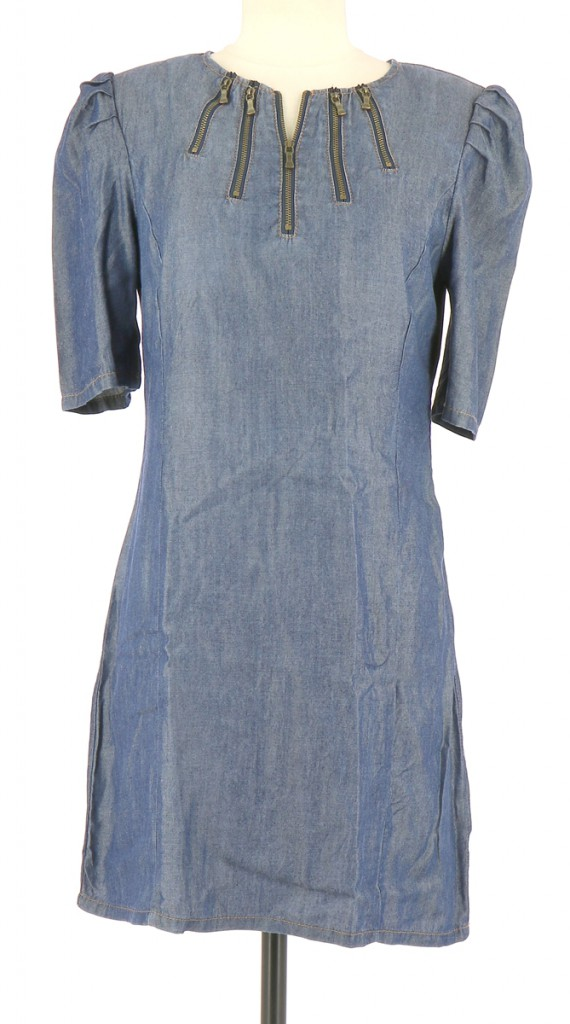 Vetements Robe TED BAKER BLEU MARINE