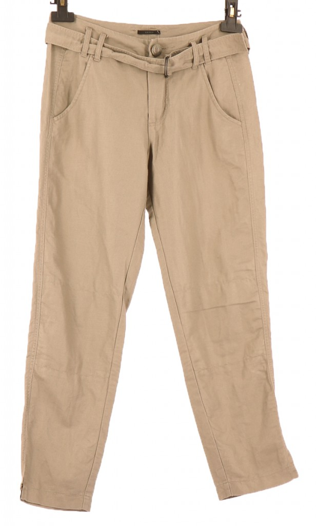 Vetements Pantalon IKKS KAKI