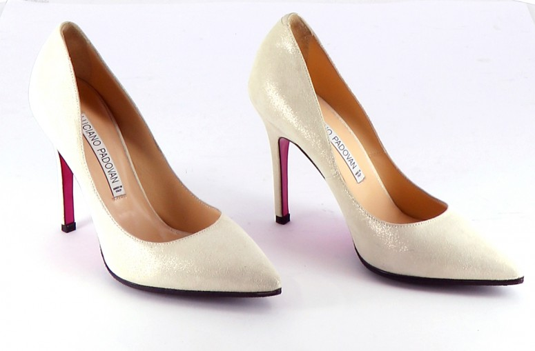Chaussures Escarpins LUCIANO PADOVAN BLANC