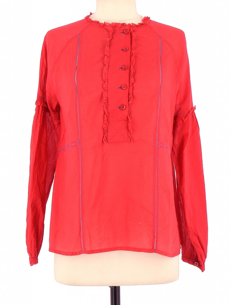 Vetements Blouse ANTIK BATIK ROUGE