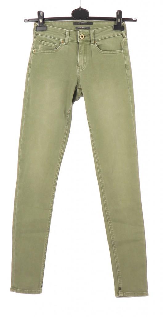 Vetements Jeans MAISON SCOTCH VERT CLAIR