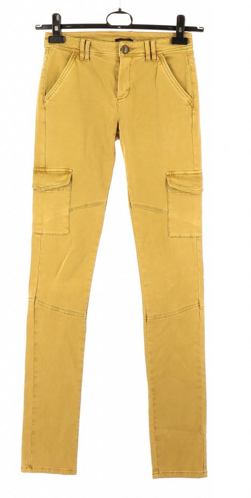Vetements Pantalon IKKS JAUNE