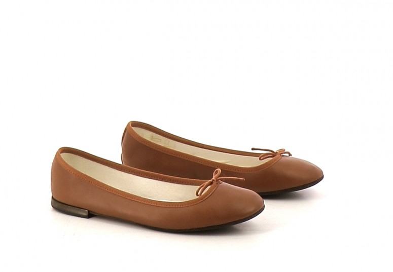 Chaussures Ballerines REPETTO MARRON