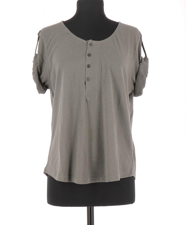 Vetements Tee-Shirt AMERICAN VINTAGE GRIS