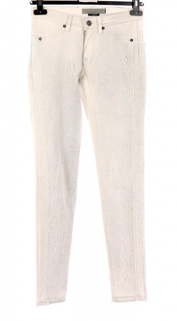 Vetements Jeans IKKS BLANC