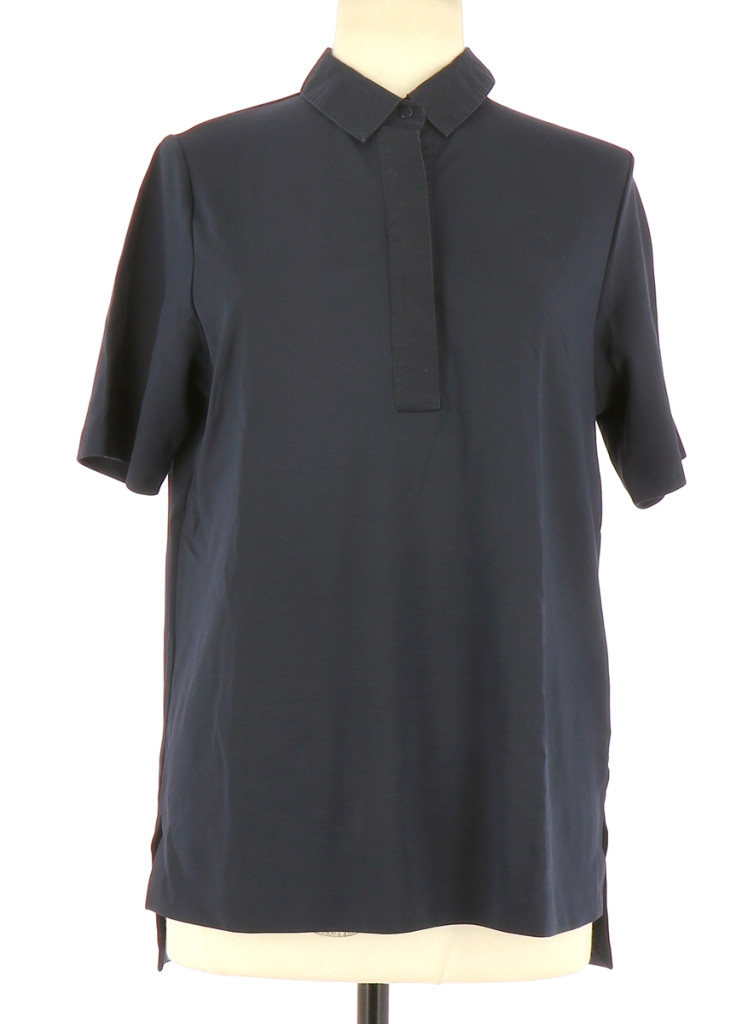 Vetements Tee-Shirt COS BLEU MARINE
