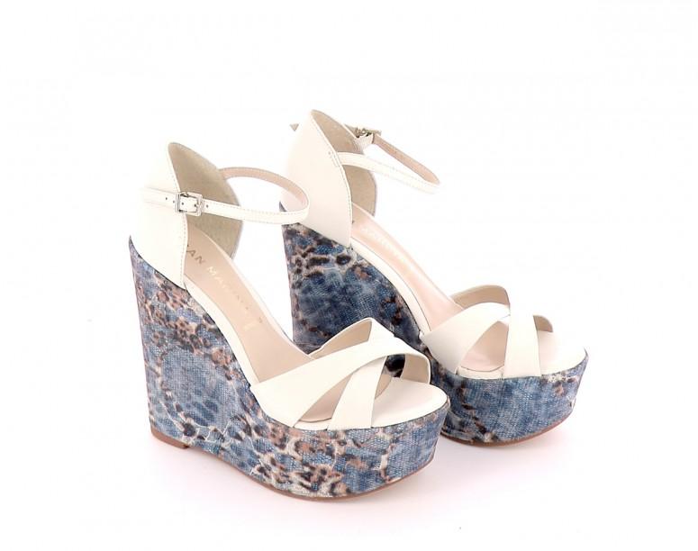 Chaussures Sandales SAN MARINA BLANC
