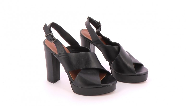 Chaussures Sandales ANDRE NOIR