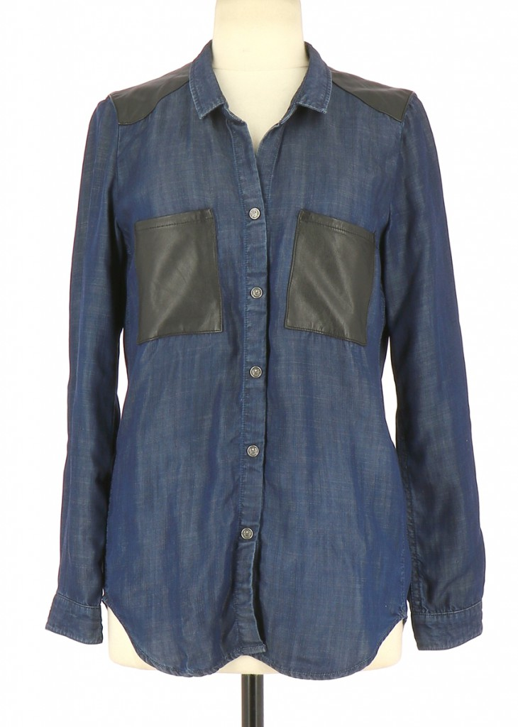 Vetements Chemise THE KOOPLES BLEU MARINE