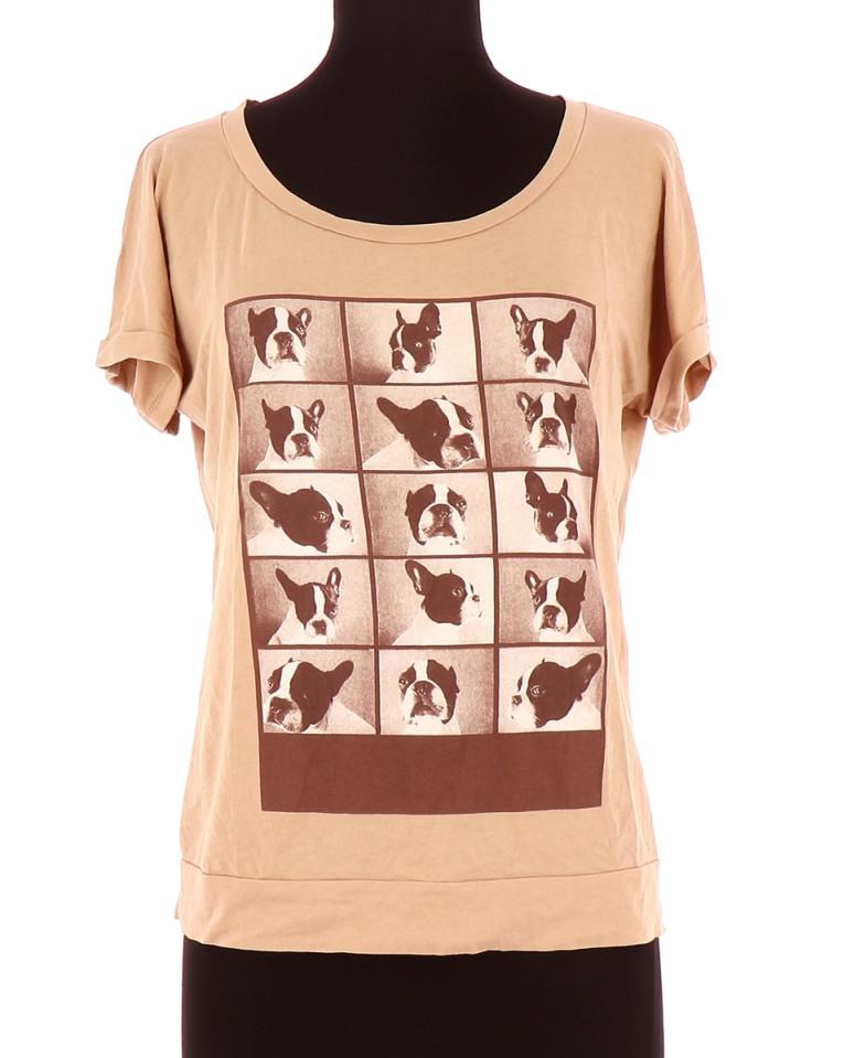 Vetements Tee-Shirt COMPTOIR DES COTONNIERS BEIGE