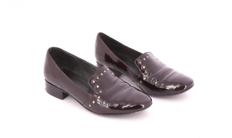 Chaussures Mocassins MINELLI BORDEAUX