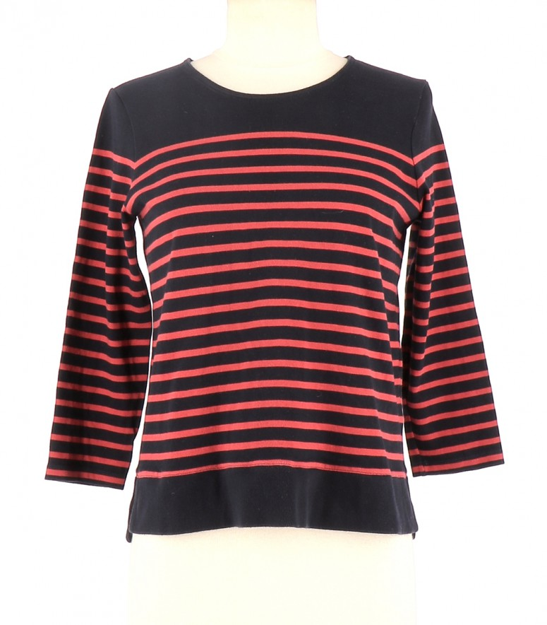 Vetements Tee-Shirt CLAUDIE PIERLOT BLEU MARINE
