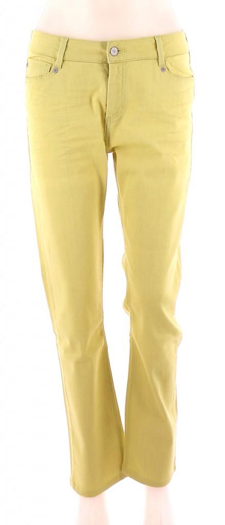 Vetements Jeans COMPTOIR DES COTONNIERS JAUNE