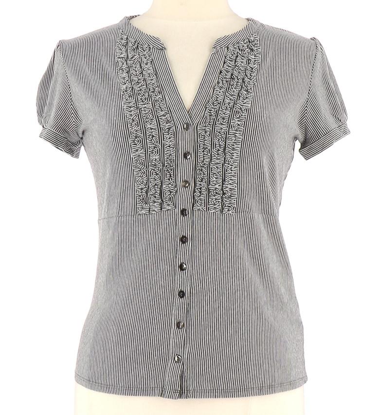 Vetements Tee-Shirt CAROLL GRIS