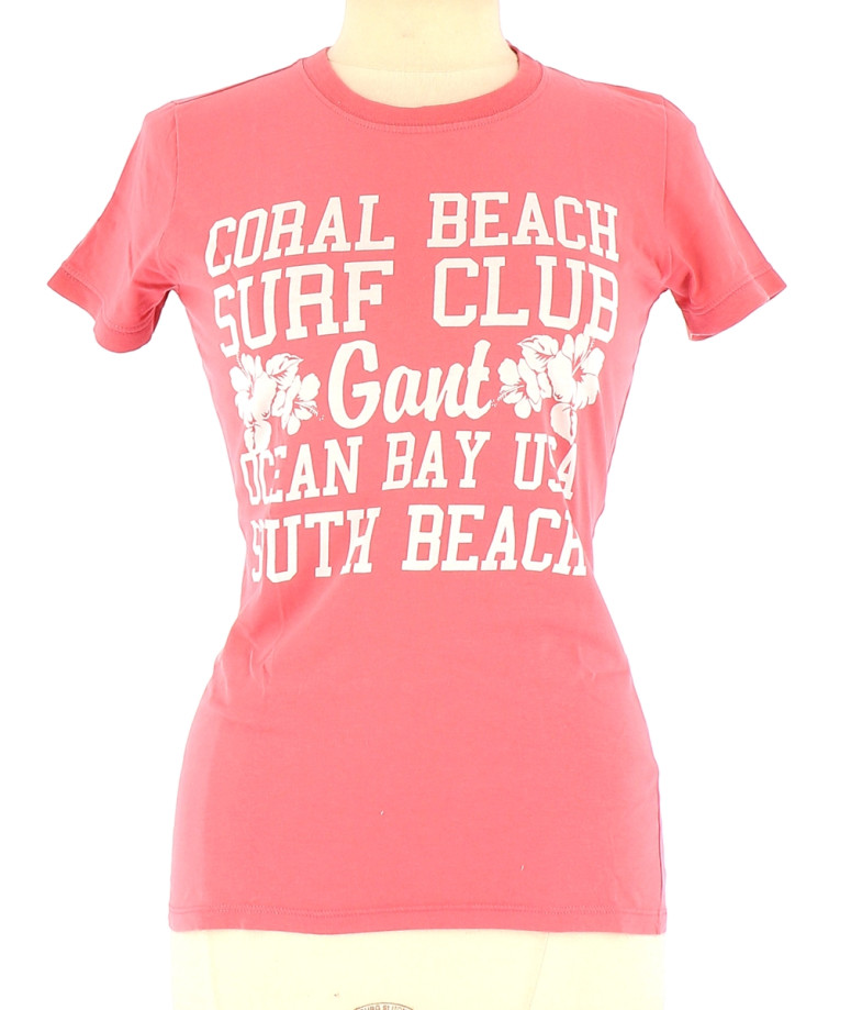 Vetements Tee-Shirt GANT ROSE